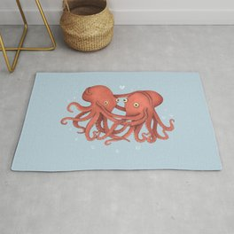 You Octopi My Heart Rug