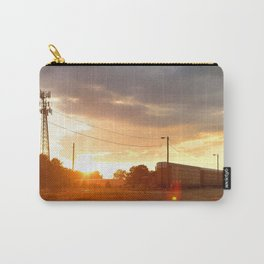 Tracks at Dusk Carry-All Pouch