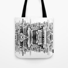 Mirror City Tote Bag