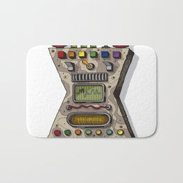 MACHINE LETTERS - X Bath Mat