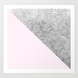 Pink + Frost Art Print