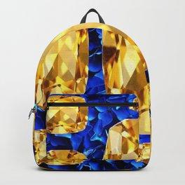 SEPTEMBER CHAMPAGNE TOPAZ GEM BIRTHSTONES Backpack