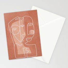 Faces 01 Stationery Cards