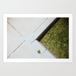 Marks the spot  Art Print
