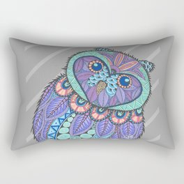 Spring Owl Rectangular Pillow