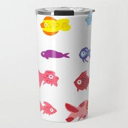Fish collection Travel Mug