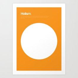 Holism Art Print