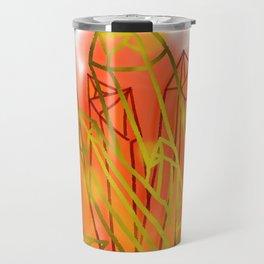 Crystals - Orange Travel Mug