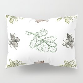 Quercus (greens) Pillow Sham