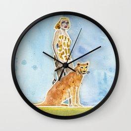 MAN-EATER Wall Clock
