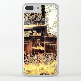 Model T Truck Clear iPhone Case