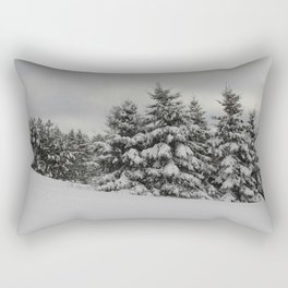 Fresh Powder Rectangular Pillow