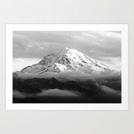 Marvelous Mount Rainier Art Print