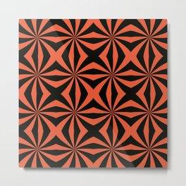 Pinwheel X Metal Print