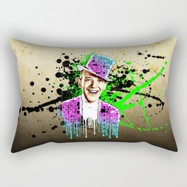 Fred Astaire, new steps.  Rectangular Pillow