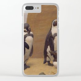 Dominicans in Feathers - Henry Stacy Marks Clear iPhone Case