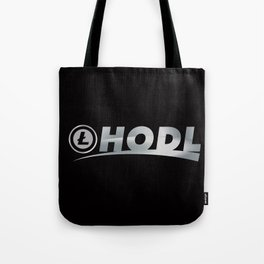Litecoin Hodl (Hold) Tote Bag