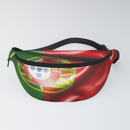 Portugal Flag Fanny Pack