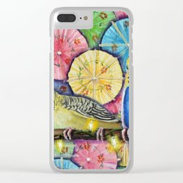 Parakeet Theater Clear iPhone Case