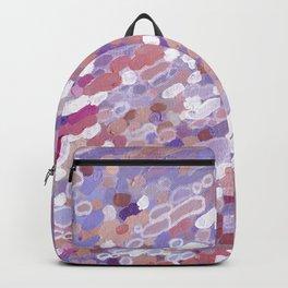 Violet Wave Reflections Backpack