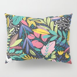 Doves and Flowers Pillow Sham