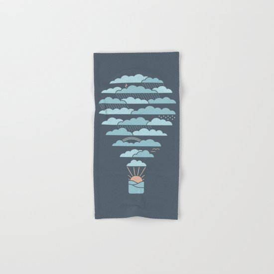 Weather Balloon Hand & Bath Towel