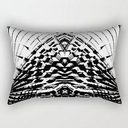 Starship Palm Rectangular Pillow