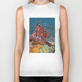 Spotfin Lionfish 1 Biker Tank