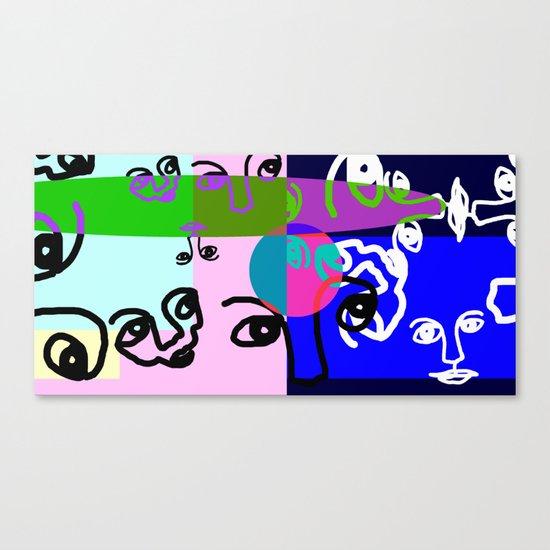 COLOURLESS Canvas Print