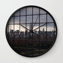 Lavish Prison Wall Clock