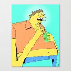 Barney Canvas Print