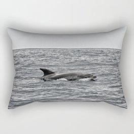 Voir les dauphins Rectangular Pillow