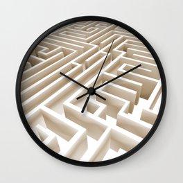 Labirinth Wall Clock
