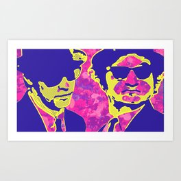 PINKS BROTHERS Art Print