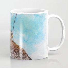 A Kite Flying a Kite Coffee Mug