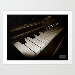 Hidden Piano Art Print