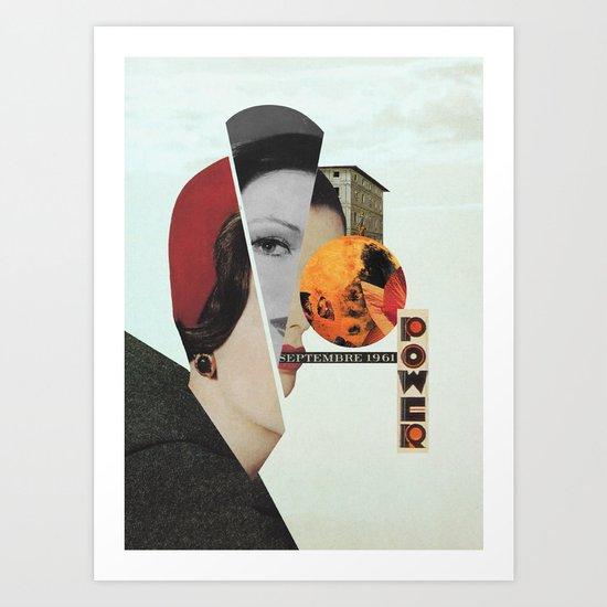 Septembre Art Print