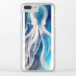 Octopus Tryptic Clear iPhone Case