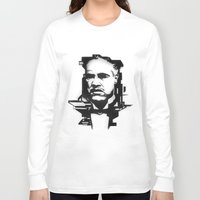 godfather Long Sleeve T-shirts featuring The GODFATHER by A. Dee