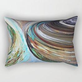 Peacock Trail Rectangular Pillow