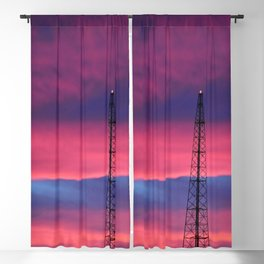 Sunset Tower Blackout Curtain