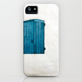 Old blue store iPhone Case