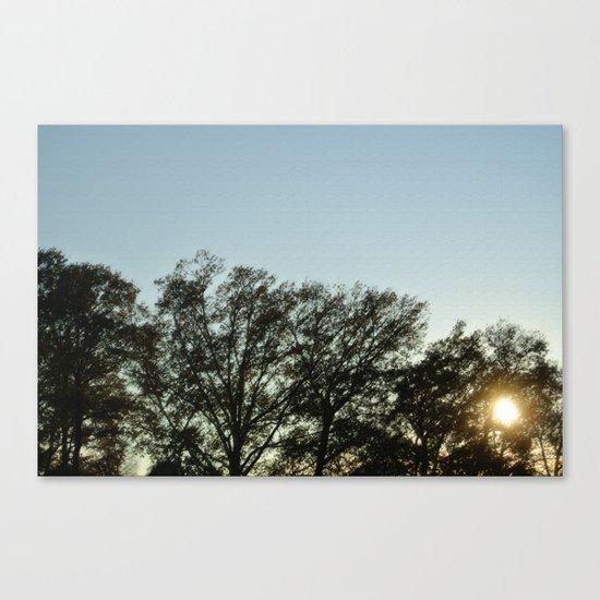 Sunday evening Canvas Print