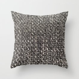 Grey lines pattern Throw Pillow