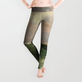 """Gustave Courbet """"The Wave 1869 private"""" Leggings"""