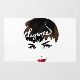 Bombshell Series: Elegance - Audrey Hepburn Rug
