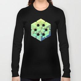 Exploded cube Long Sleeve T-shirt