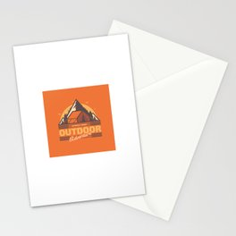 Outdoor Adventure Stationery Cards