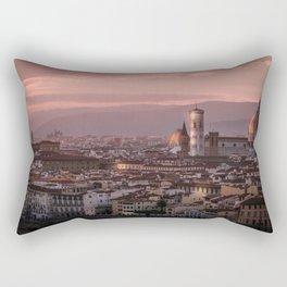 Florence, Italy Cityscape Rectangular Pillow