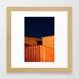 Compliment I Framed Art Print
